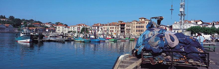 St Jean De Luz Pays Basque Station Baln 233 Aire Port Color 233